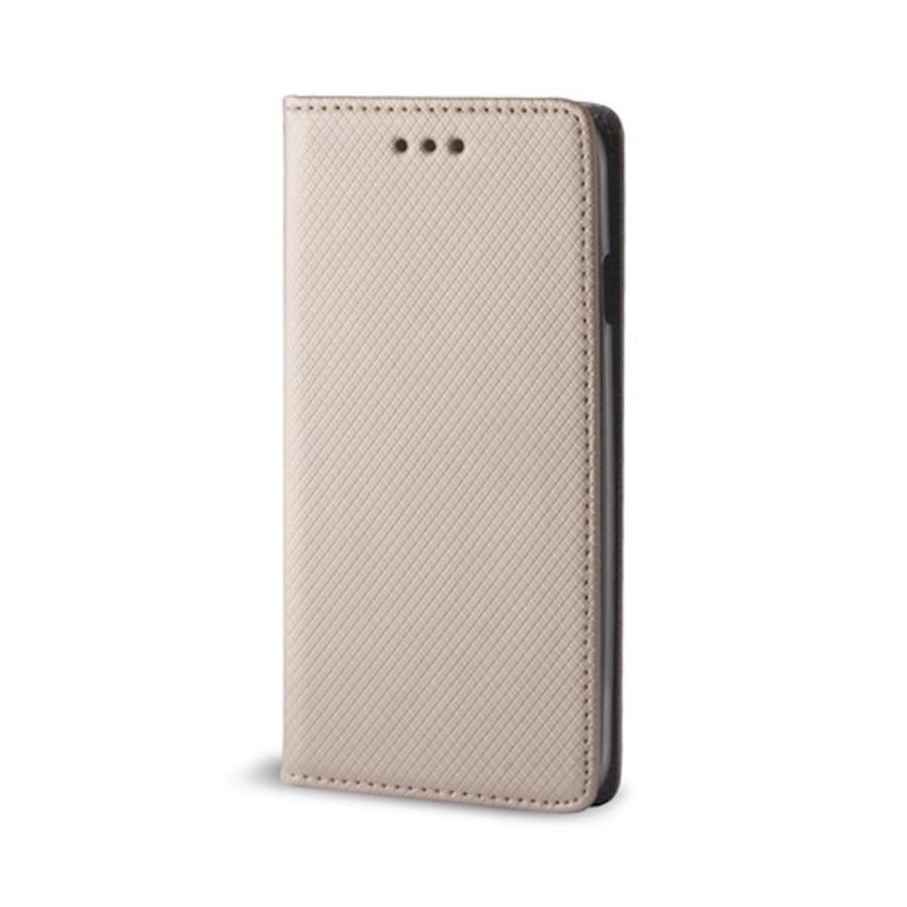 Diárový obal na Huawei P20 Lite Smart Magnet zlatý 248351f2dda