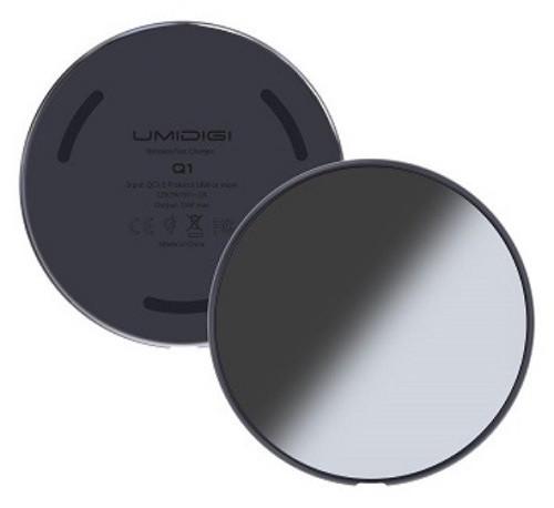 Podložka pre bezdrôtové nabíjanie Umidigi Q1 Space šedá