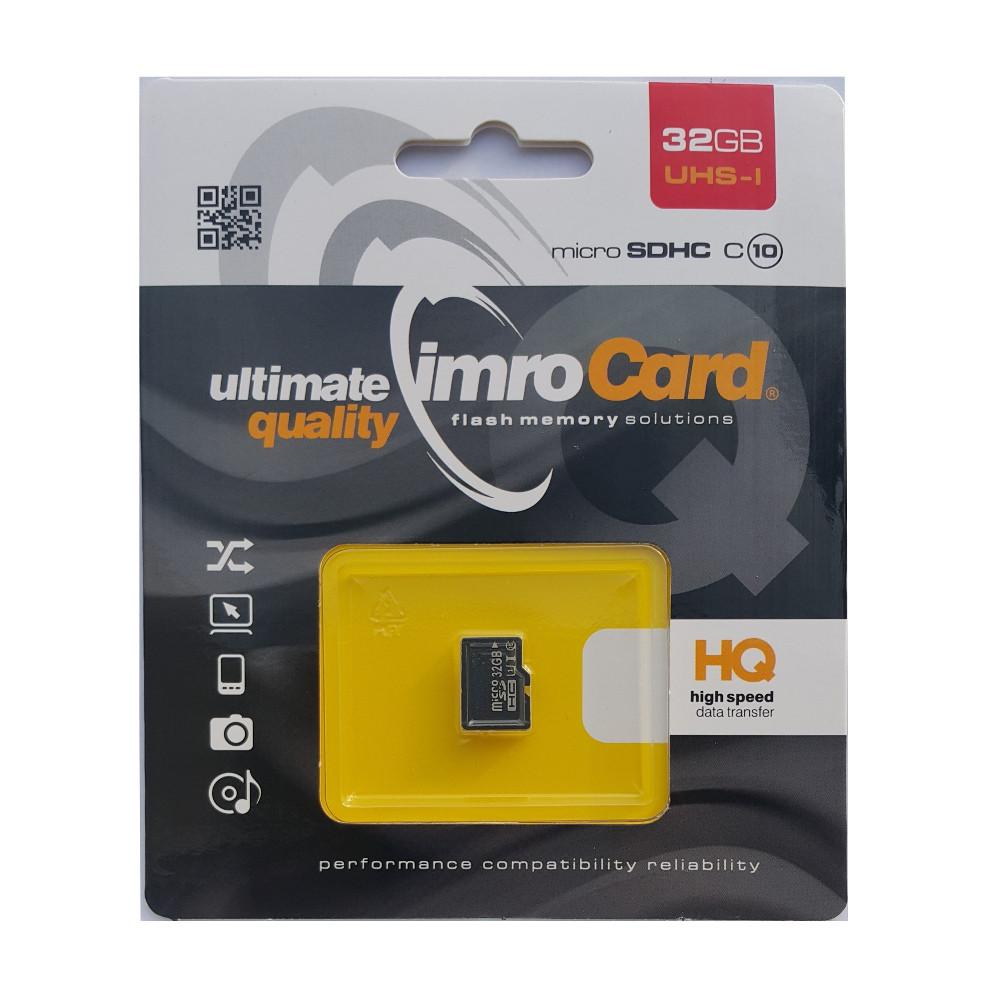 Pamäťová karta Imro microSD 32 GB (cl.10 | UHS-I)
