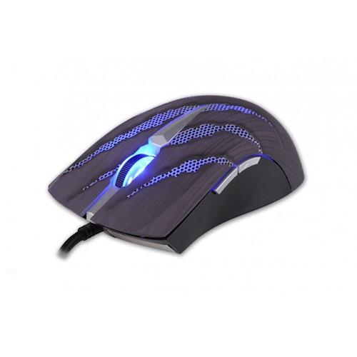 PC herná myš Rebeltec Magnum čierna