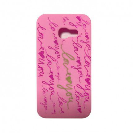 Silikónové puzdro Love pre Apple iPhone 5 5s SE ružové e8c400ff865