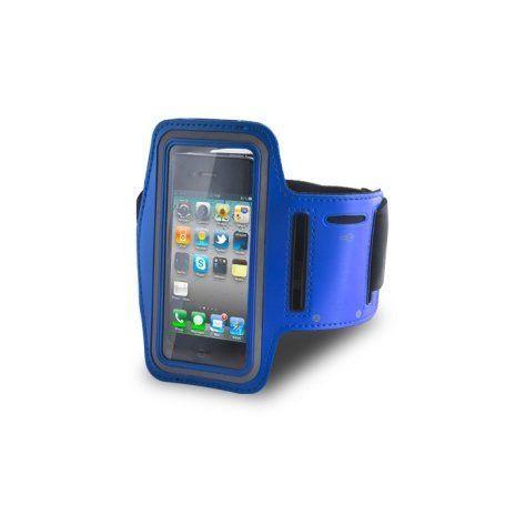 Puzdro na rameno Premium pre Samsung Galaxy S2 I9100, Apple iPhone 5/5s/SE modré 179