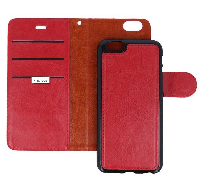 Diárové puzdro Smart 2v1 pre Apple iPhone 6/6s červené