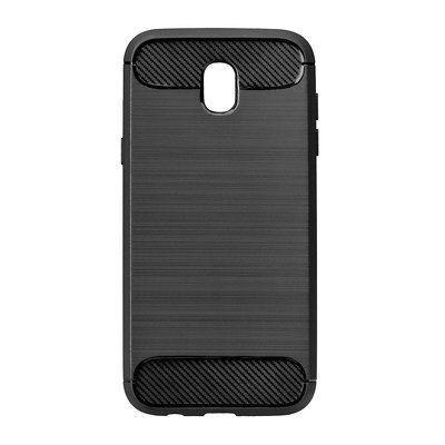 Pevné silikónové puzdro Forcell Carbon pre Samsung Galaxy J3 2017 čierne df5128871c6