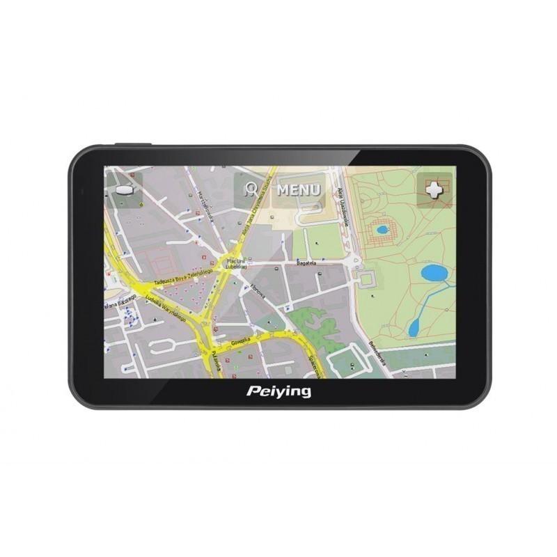 Navigácia Peiying Basic PY-GPS5014 čierna