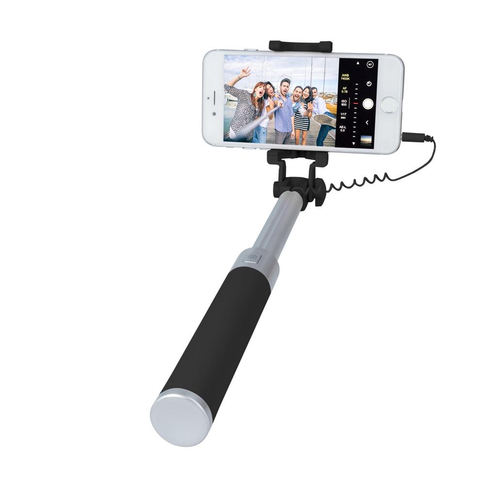 Selfie tyč Forever JMP-200 čierna