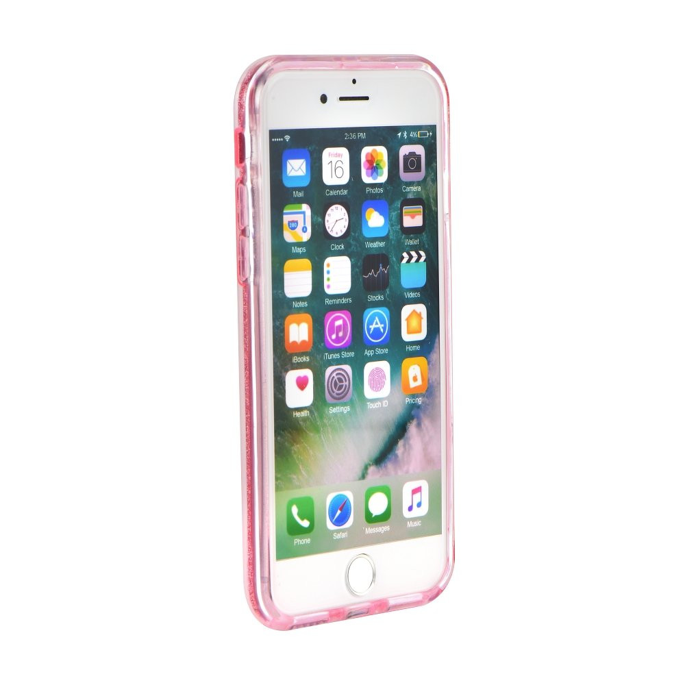 Silikónové puzdro Forcell Shining pre Apple iPhone 6 6s ružové ... 0723480e8c3