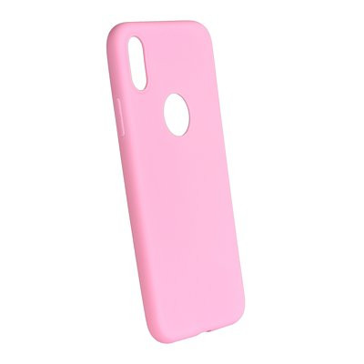 Silikónové puzdro Forcell Soft pre Apple iPhone X XS ružové baabbdf9c14