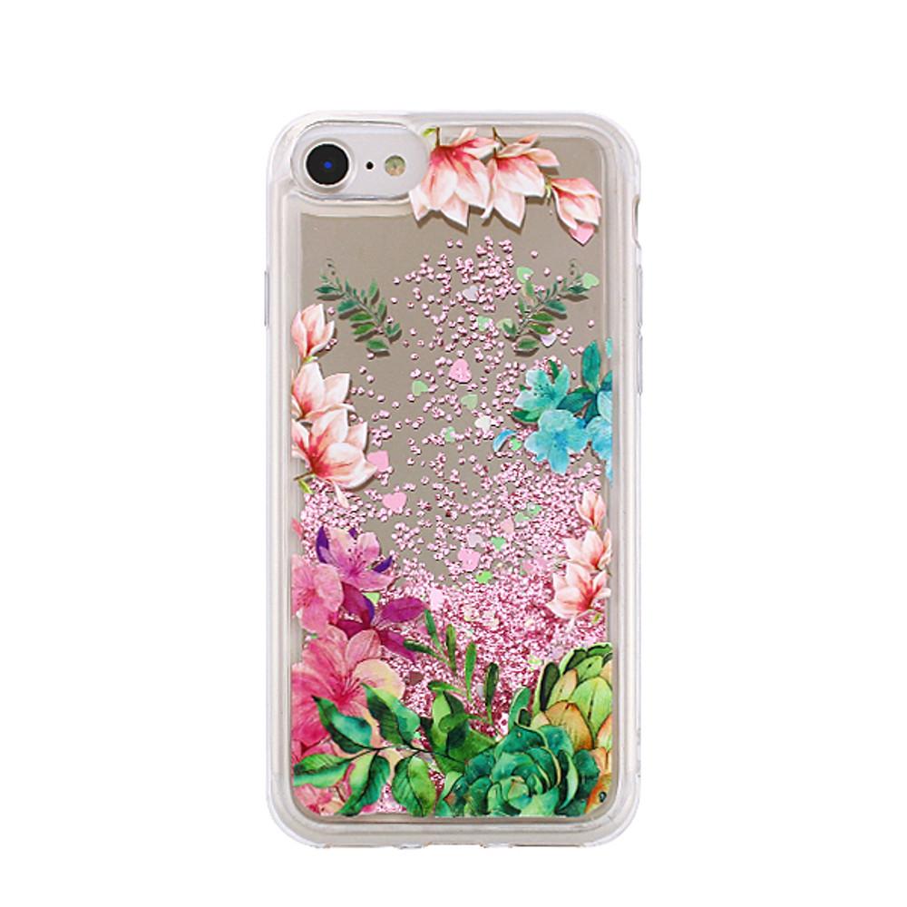 Silikónové puzdro Liquid Mirror TPU Flower2 pre Samsung Galaxy S9 Plus farebné