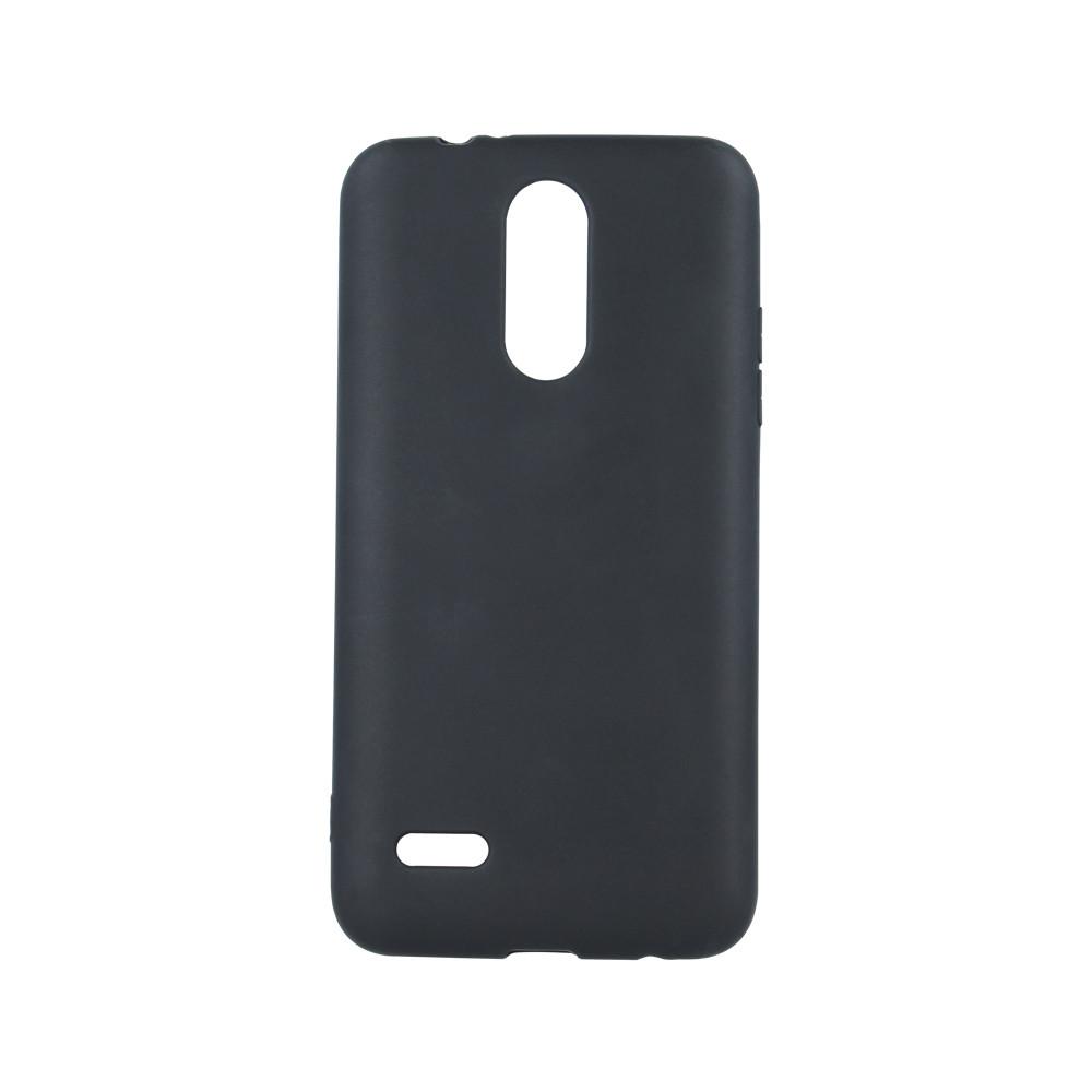 Silikónové puzdro Matt TPU pre Apple iPhone 7 8 čierne 8c96a3e7f44