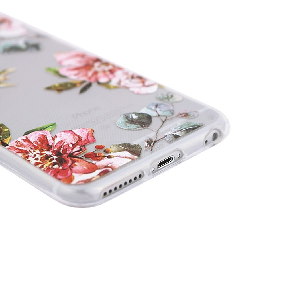 Silikónové puzdro Ultra Trendy Fashion Flowers pre Huawei P20 Lite 320de45adf4