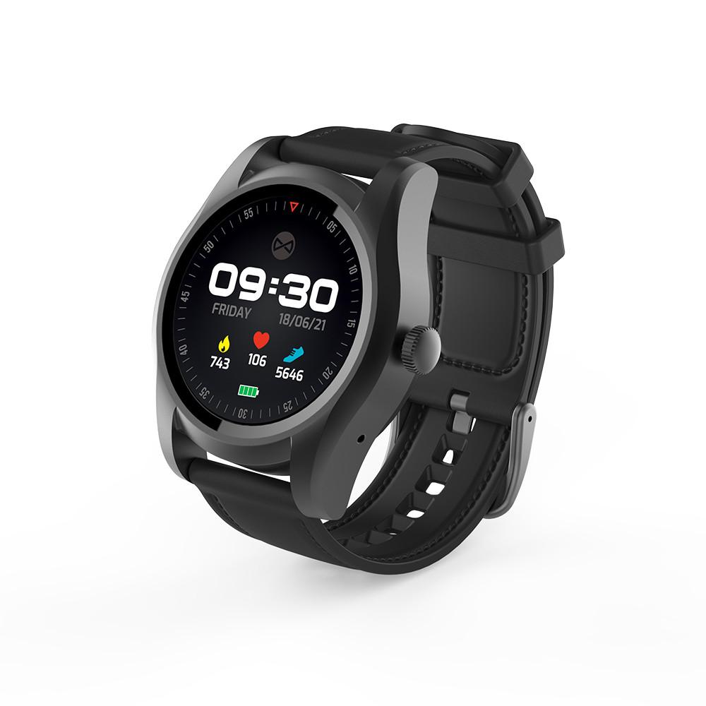 Smart hodinky Forever SIM SW-200 čierne