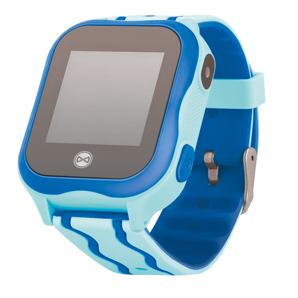 Smart hodinky pre deti s GPS a WiFi Forever See Me KW-300 modré