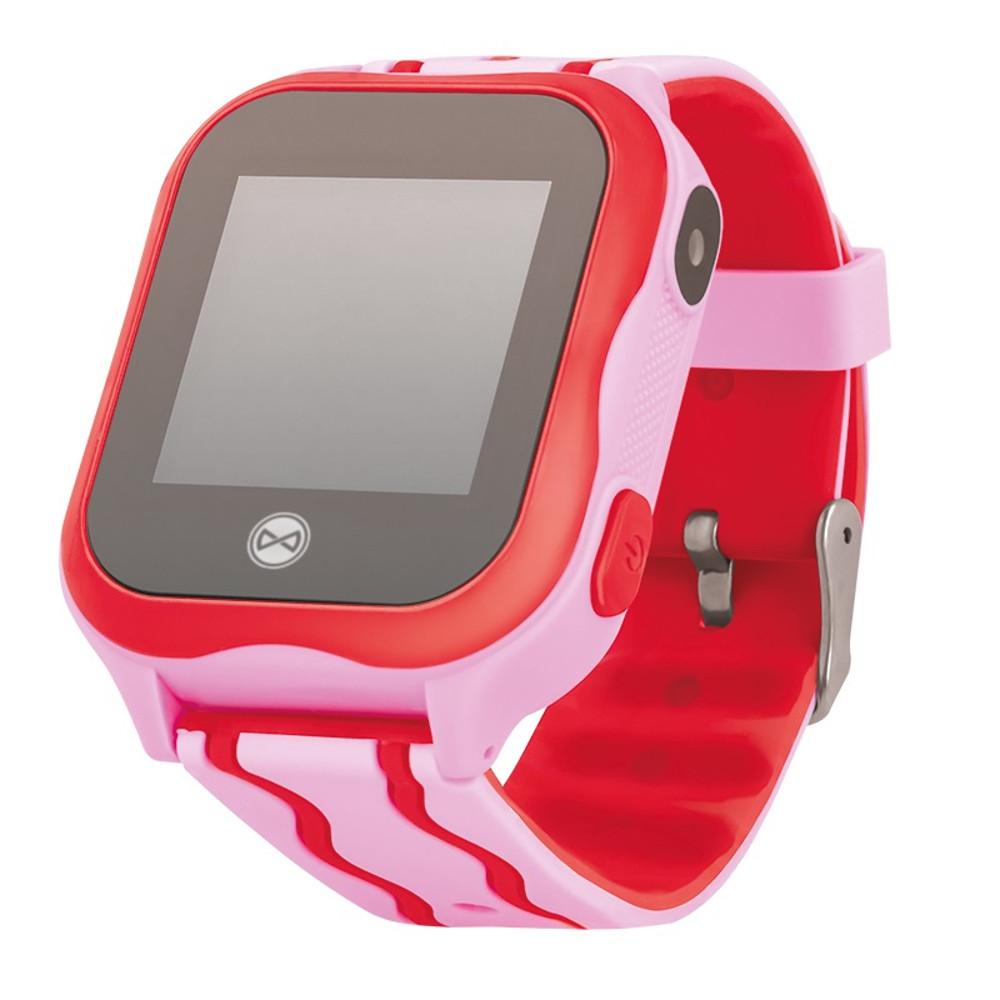 Smart hodinky pre deti s GPS a WiFi Forever See Me KW-300 ružové