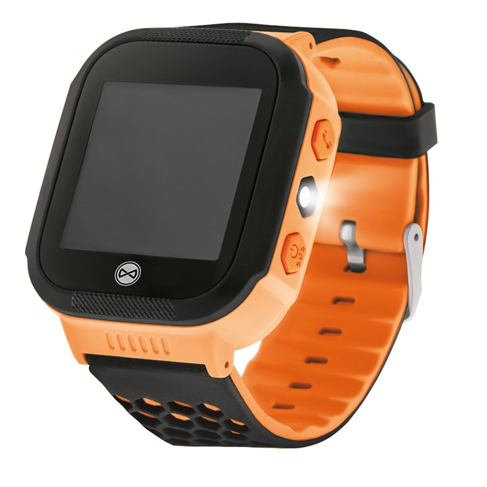 Smart hodinky pre deti s GPS Forever Find Me KW-200 oranžové