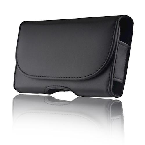 Univerzálne puzdro kožené opaskové Classic čierne