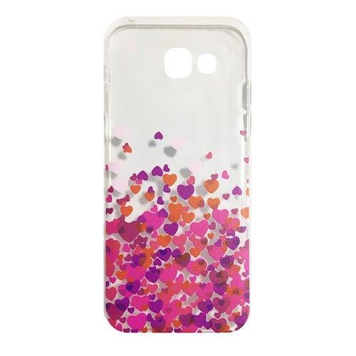 Valentínske silikónové puzdro Valentine 1 pre Apple iPhone 5/5s/SE ružové