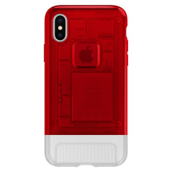 Spigen Classic C1 Cover pro iPhone X/XS Ruby (EU Blister)