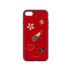 GUHCI8ACLSRE Guess Iconic TPU Case Red pro iPhone 7/8