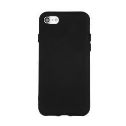 Silikónové puzdro pre Apple iPhone 6 Plus čierne