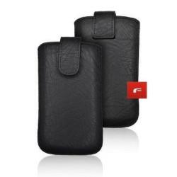 Univerzálne puzdro Forcell Slim Kora 2 - Samsung i9100 Galaxy S2/LG L7 čierne