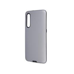 Silikónové puzdro Defender Smooth pre Huawei P Smart 2019/Honor 10 lite strieborné