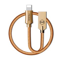 Kábel Mcdodo Knight USB - Lightning 1,2 m zlatý CA-3920