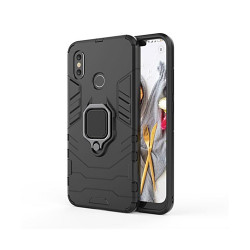 Puzdro na Apple iPhone SE 2 Defender Ring Armor čierne
