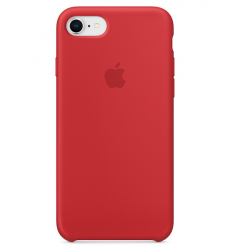 Apple iPhone 8 / 7 Silicone Case - Red (MQGP2FE/A)