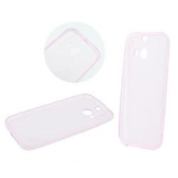 Silikonové puzdro  Back  Ultra Slim 0,3mm pre  Samsung Galaxy S8 Plus ružový