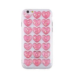 3D valentínske silikónové puzdro Heart 1 pre Samsung Galaxy S8 ružové