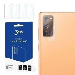 Ochranné sklo na fotoaparát Samsung Galaxy S20 FE G780 3MK Flexible (4ks)
