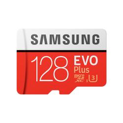 Samsung microSDXC 128GB UHS-I U3 + adaptér MB-MC128GA/EU