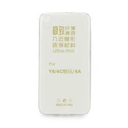 Silikónové puzdro  Ultra Slim 0,3mm - HUAWEI Y7 transparent