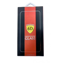 Tvrdené sklo 6D 9H Full Glue na Apple iPhone 6/6s Plus biele