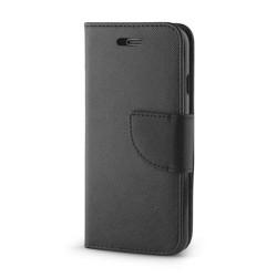Diárové puzdro Smart Fancy pre Lenovo Moto E4 čierne
