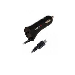 Autonabíjačka Swissten CL micro USB a 2,4A čierna