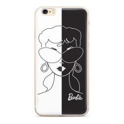 Silikónové puzdro Barbie 003 pre Apple iPhone XS bielo čierne