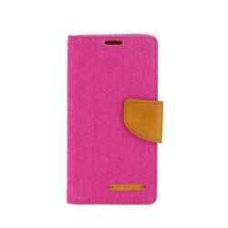Diárové puzdro na Apple iPhone 6/6s Canvas Book ružové