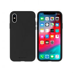 Silikónové puzdro na Apple iPhone 6/6s Mercury Silicone čierne