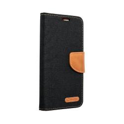 Diárové puzdro Smart Canvas pre iPhone 5/5s/SE čierne