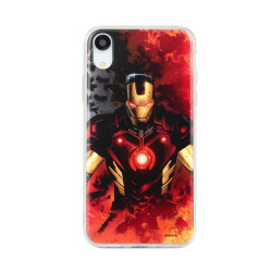 Case with licence Ipho X Iron Man Multicolor (003)