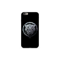 Case with licence IPHO XS ( 5,8 ) Black Panther Premium GLASS black (015)