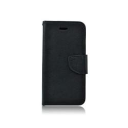 Diárové puzdro Fancy Book pre Samsung Galaxy S4 Mini (I9190) čierne