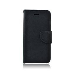 Diárové puzdro Fancy pre Apple iPhone XS Max čierne
