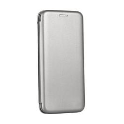 Diárové puzdro Forcell Elegance pre Apple iPhone 7/8 oceľovo sivé