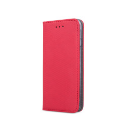 Diárový obal na Huawei Y6 2019 Smart Magnet červený