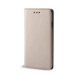 Diárový obal na Samsung Galaxy A50 Smart Magnet zlatý