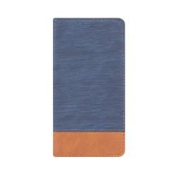 Diarové puzdro na iPhone 7 Smart Retro modro-hnedé