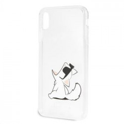 KLHCI65CFNRC Karl Lagerfeld Fun Choupette No Rope Hard Case pro iPhone XS Max